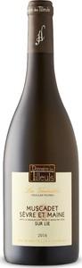 Domaine Des Tilleuls Les Vénérables Vieilles Vignes Muscadet Sèvre Et Maine 2016, Sur Lie, Ap Bottle