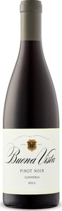 Buena Vista Pinot Noir Carneros 2013 Bottle