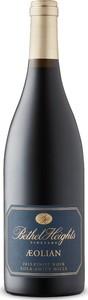 Bethel Heights Aeolian Pinot Noir 2013, Eola Amity Hills, Williamette Valley Bottle