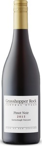 Grasshopper Rock Earnscleugh Vineyard Pinot Noir 2015, Central Otago, South Island Bottle