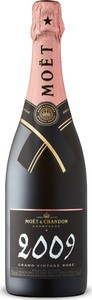 Moët & Chandon Grand Vintage Brut Rosé Champagne 2009, Ac Bottle
