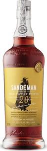 Sandeman 20 Year Old Tawny Port, Dop Bottle