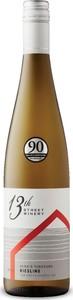 13th Street June's Vineyard Riesling 2016, VQA Creek Shores, Niagara Peninsula Bottle