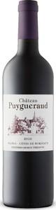 Château Puygueraud 2016, Ac Côtes De Bordeaux   Francs Bottle