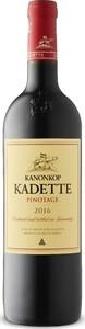 Kanonkop Kadette Pinotage 2016, Wo Stellenbosch Bottle
