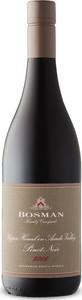 Bosman Pinot Noir 2016, Wo Upper Hemel En Aarde Valley, Walker Bay Bottle