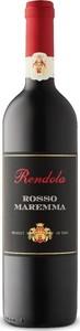 Rendola Rosso Maremma 2016, Doc Bottle