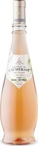 Château De L'aumérade Cru Classé Cuvée Marie Christine Rosé 2017, Ac Côtes De Provence Bottle