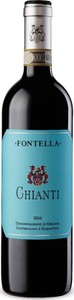 Fontella 2016, Chianti Bottle