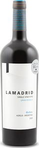 Lamadrid Single Vineyard Gran Reserva Malbec 2015, Agrelo, Luján De Cuyo Bottle