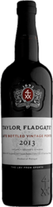 Taylor Fladgate Late Bottled Vintage Port 2014, Douro Superior Bottle