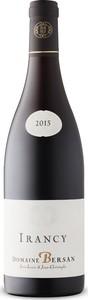 Domaine Bersan Irancy Pinot Noir 2015, Ac Bottle