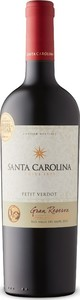 Santa Carolina Gran Reserva Petit Verdot 2014, Rapel Valley Bottle