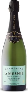 Le Mesnil Grand Cru Blanc De Blancs Champagne 2009, Ac Bottle