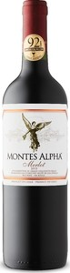 Montes Alpha Merlot 2015 Bottle