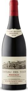 Château Des Tours Brouilly Vieilles Vignes 2016, Brouilly Bottle