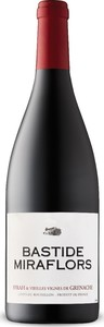 Bastide Miraflors Syrah/Vieilles Vignes Grenache 2015, Ap Côtes Du Roussillon Bottle