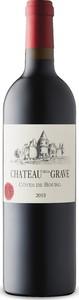 Château De La Grave Caractère 2015, Ac Côtes De Bourg Bottle