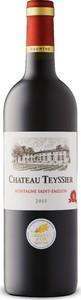 Château Teyssier 2015, Ac Montagne Saint émilion Bottle