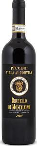 Piccini Villa Al Cortile Brunello Di Montalcino Docg 2014 Bottle