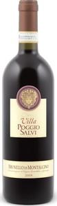 Villa Poggio Salvi Brunello Di Montalcino Docg 2014 Bottle