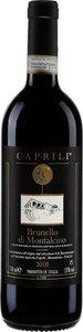 Caprili Brunello Di Montalcino Docg 2014 Bottle