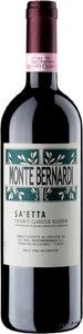 Monte Bernardi Chianti Classico Riserva Docg Sa'etta 2015 Bottle