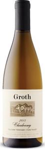 Groth Hillview Vineyard Chardonnay 2015, Napa Valley Bottle