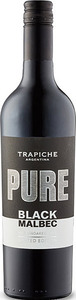 Trapiche Pure Black Malbec Unoaked 2017 Bottle