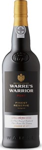 Warre's Warrior Finest Reserve Port, Dop Bottle