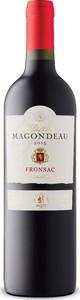 Château Magondeau 2015, Ac Fronsac Bottle
