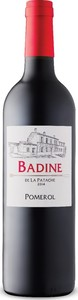Badine De La Patache 2014, Ac Pomerol Bottle