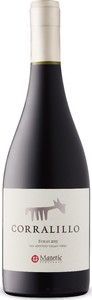 Matetic Corralillo Syrah 2015, Do San Antonio Valley Bottle