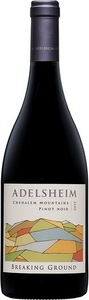 Adelsheim Pinot Noir Breaking Ground 2015, Chehalem Mountains Ava Bottle