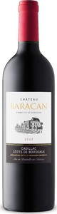 Château Baracan 2015, Ac Côtes De Bordeaux   Cadillac Bottle