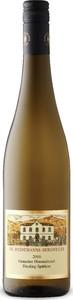 Dr. Heidemanns Bergweiler Graacher Himmelreich Riesling Spätlese 2016, Prädikatswein Bottle