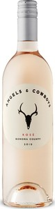 Angels & Cowboys Rosé 2018, Sonoma County Bottle