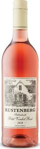 Rustenberg Petit Verdot Rosé 2018, Wo Stellenbosch Bottle