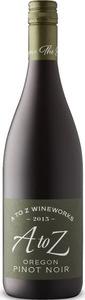 A To Z Wineworks Pinot Noir 2015, Oregon Bottle
