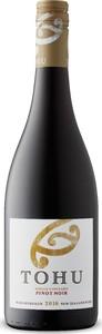 Tohu Single Vineyard Pinot Noir 2016, Marlborough, South Island Bottle