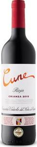 Cune Crianza 2015, Doca Rioja Bottle