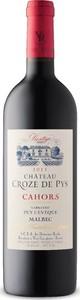 Château Croze De Pys Prestige Malbec Cahors 2015, Ac Bottle