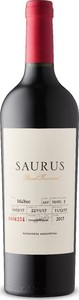 Saurus Barrel Fermented Malbec 2017, Patagonia Bottle