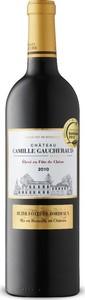 Château Camille Gaucheraud 2010, Ac Côtes De Bordeaux   Blaye Bottle