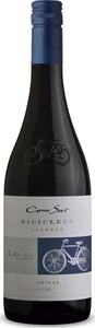 Cono Sur Bicicleta Shiraz 2018 Bottle