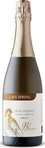 Cave Spring Blanc De Blancs Brut Sparkling, Traditional Method, VQA Niagara Escarpment, Ontario Bottle