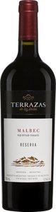 Terrazas De Los Andes Reserva Malbec 2016, Mendoza Bottle