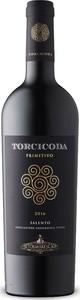 Tormaresca Torcicoda Primitivo 2016 Bottle