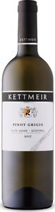 Kettmeir Pinot Grigio 2017, Doc Alto Adige   Südtirol Bottle