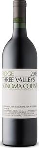 Ridge Three Valleys 2016, Sonoma County Bottle